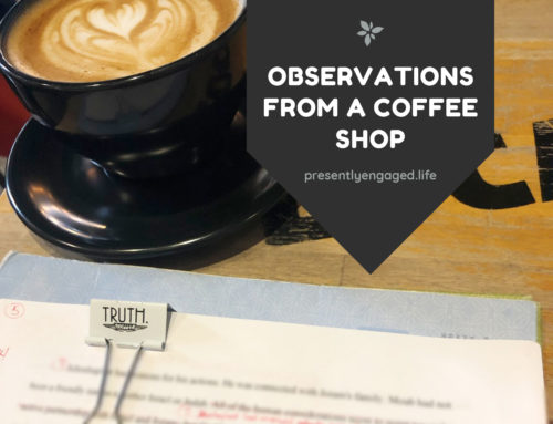 Observations from a Coffee Shop
